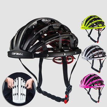 MTB Mountain Bike Road Bike Folding Bicycle Helmet Portable Urban Leisure Riding Caps Comfortable Helmets