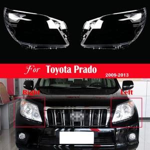 Image 1 - ไฟหน้ารถเปลี่ยนเลนส์ด้านหน้าโปร่งใสอัตโนมัติสำหรับ Toyota Prado 2009 2010 2011 2012 2013ไฟหน้าโปร่งใส