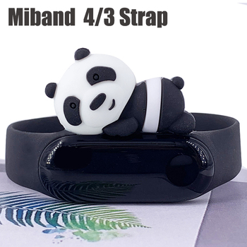 bracelet for miband 4 strap replacement silicone xiaomi mi 4 band straps xiaomi 3 strap for xiaomi miband 3/4 band accessories 1