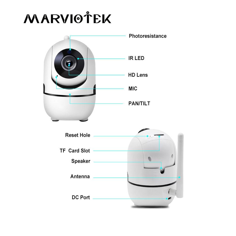 1080p completo hd câmera ip sem fio wifi ip cctv câmera wi-fi mini rede de vigilância vídeo rastreamento automático câmera visão noturna 3mp 2