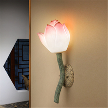 New Chinese Style Creative Wall Light Decorative Art Lamp Retro Stair Corridor Living Room Bedroom Bedside