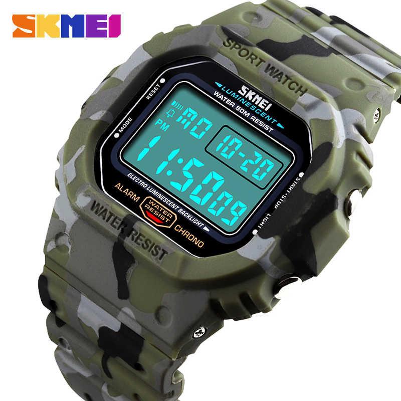SKMEI 1471 Wasserdichte Leuchtende Digitale Uhr Militär Sport Männer Armbanduhr männer Uhren Relogio Masculino uhren para hombre