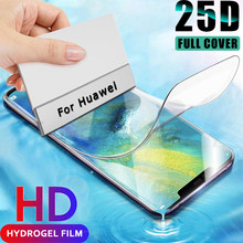 Filme de hidrogel para huawei p40 pro, película filme de hidrogel não é de vidro p 30 40 mate 20 lite 30 pro protetor de tela z inteligente mate20 30 p