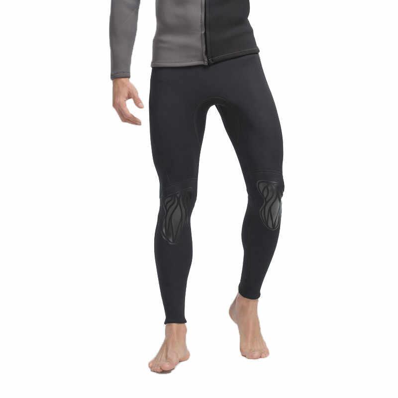 SBART Mannen Surfen Wetsuit Broek 3MM Neopreen Duiken Rash guard Broek Anti-Uv Beschermen Badpak Anti-Kwallen Snorkelen Zwembroek N