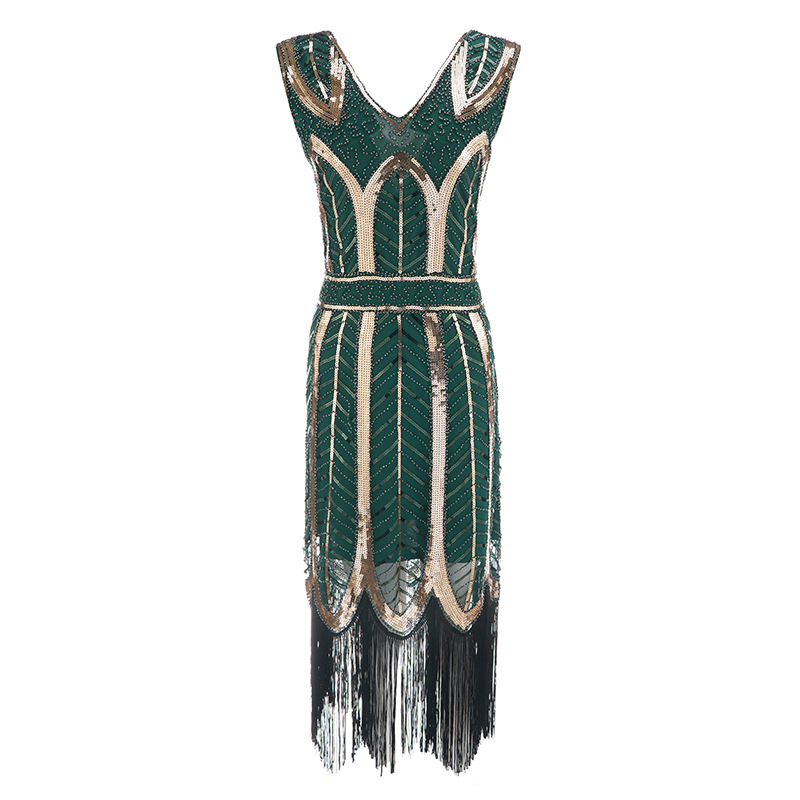 Image 3 - Plus size Womens Fashion 1920s Flapper Dress Vintage Great 