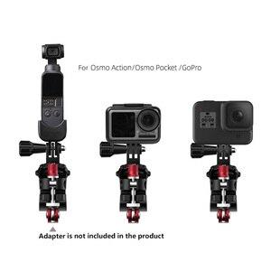 Image 1 - Caméra de sport vélo pince réglable vélo de route Support pour GoPro pour Osmo Action pour DJI Osmo poche Action caméra pièces de rechange