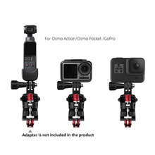Sports Camera Bicycle Clamp Adjustable Road Bike Support for GoPro for Osmo Action for DJI Osmo Pocket Action Camera Spare Parts