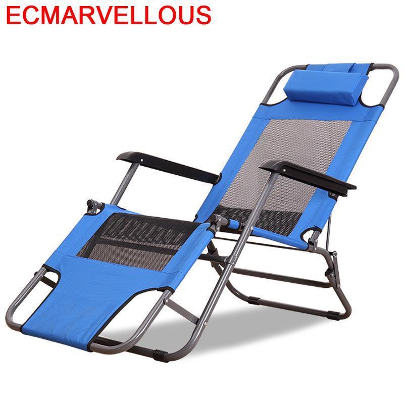 Exterieur Camping Mueble fauteuil inclinable Mobilya Cama Plegable Lit pliant Lit Salon De Jardin Salon De Jardin Chaise longue