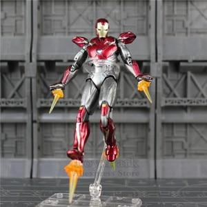 "Image 5 - Spider Homecoming 6"" Action Figure Holland Avenger Iron Man Ironman MK47 Mark47 KOs SHF Legends Toys Doll Model"