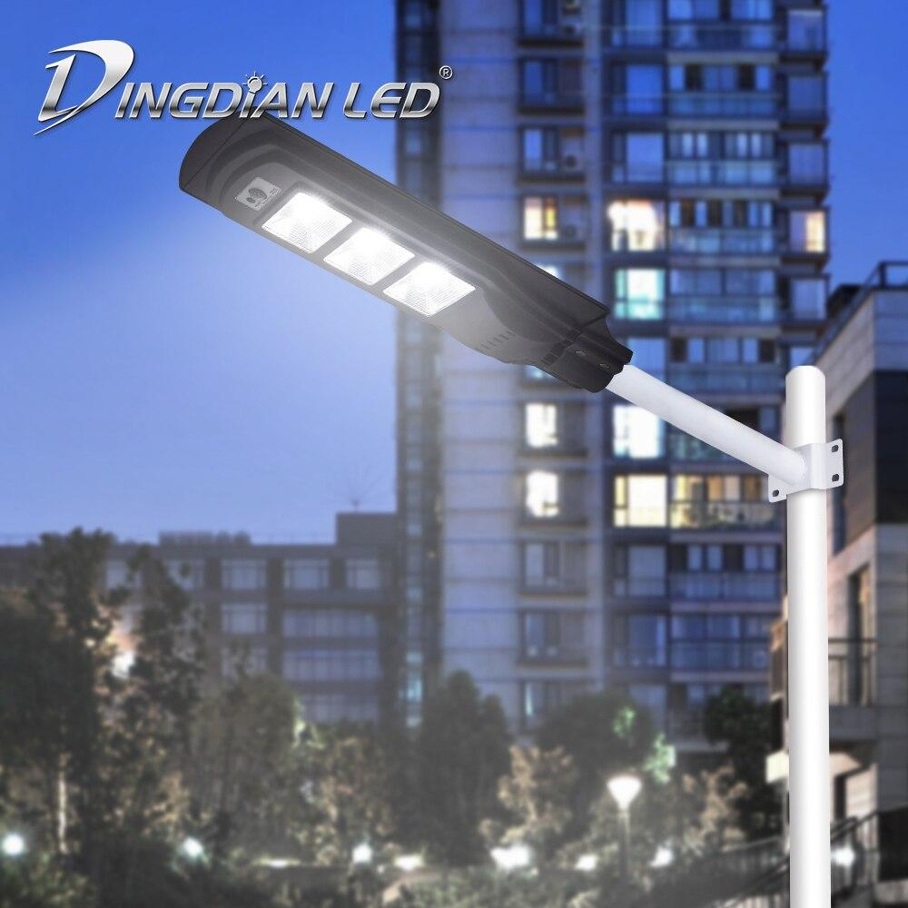 Outdoor Solar Led Street Light 50W/100W/150W Radar Induction Light Control Solar Garden Light Lamp Spoting Light Waterproof Lamp