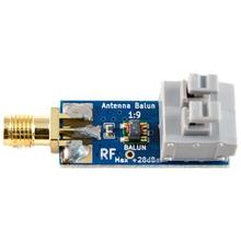 Gorący 1:9 HF antena Balun jeden dziewięć: Tiny niski koszt 1:9 Balun pasmo częstotliwości, długi przewód HF antena RTL-SDR 160M-6M nowy