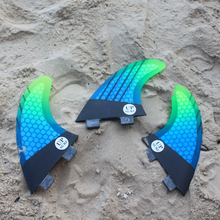 tabla de surf FCS G5 surf fins Free shipping surf Board Surf Fins Fibreglass Surfboard fins fcs 1 M size thruster fin