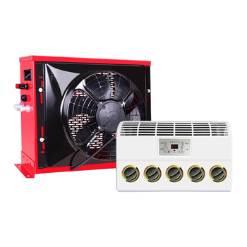 Truck large Auto Car Air Conditioning 12V 24V Electric Conditioner for