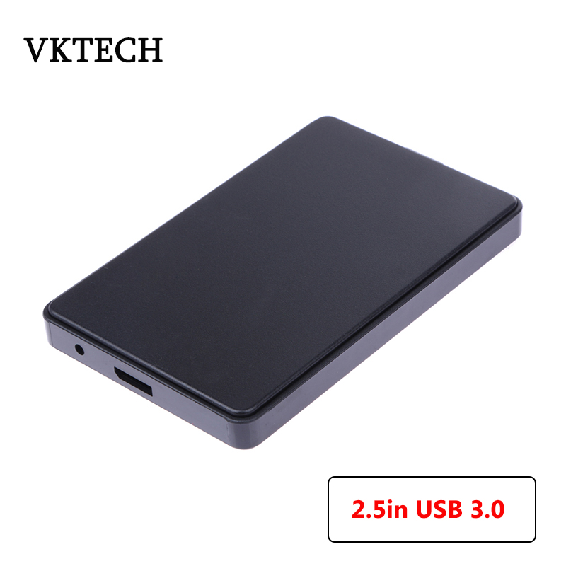 VKTECH 2.5in USB 3.0 SATA Hdd Box HDD Hard Drive Case Box External Computer Box And Housings For HDD Box Case For Computer Newst