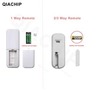 Image 2 - QIACHIP 무선 원격 제어 라이트 스위치 220V 수신기 송신기 ON/OFF 디지털 1/2/3 웨이 벽 원격 제어 스위치 램프