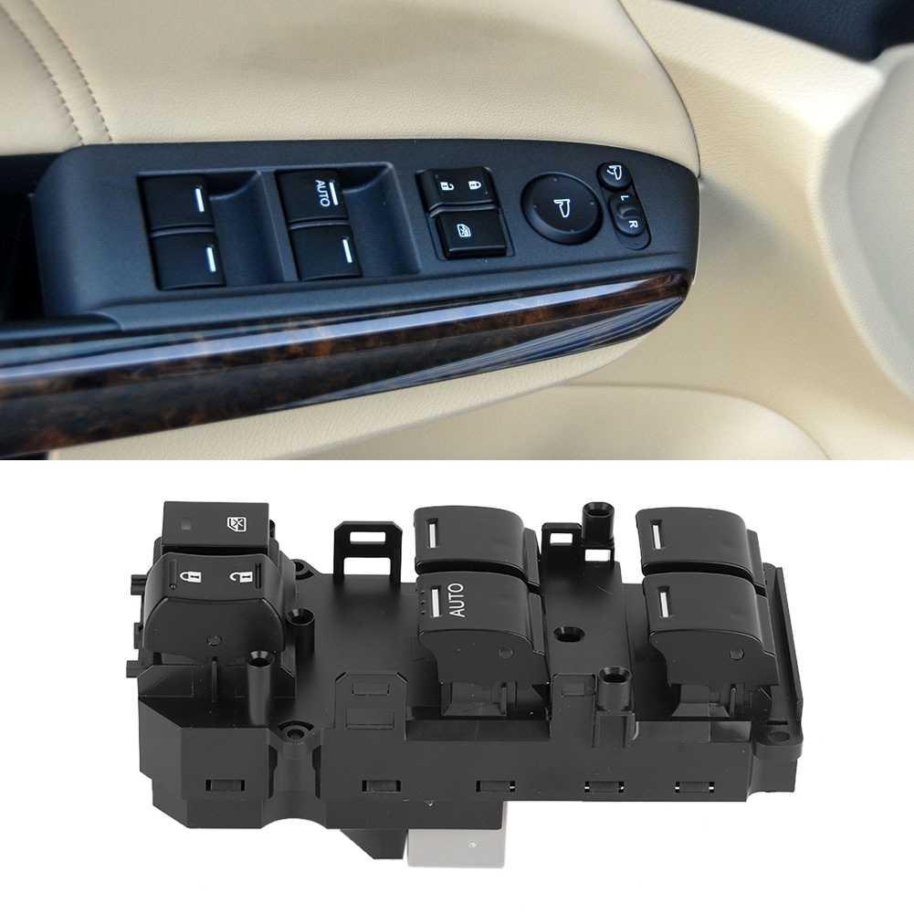 Левый передний Электрический переключатель управления окном для Honda Accord 2008 2009 2010 2011 2012 35750-TB0-H01 35750-TA0-A02 35750-TBD-H13