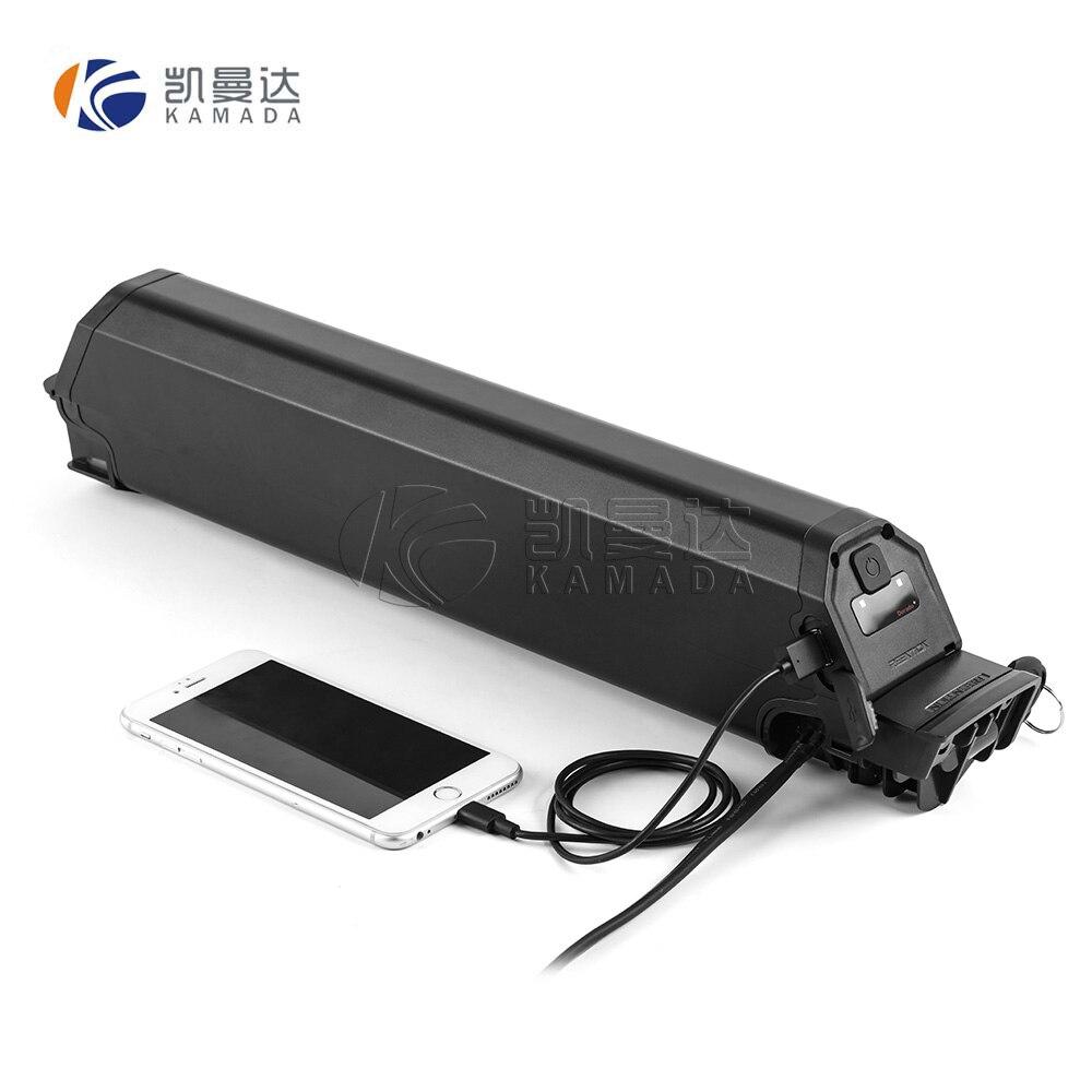 Rechargeable Down Tube Dorado 48 Volt Ebike Battery 48v