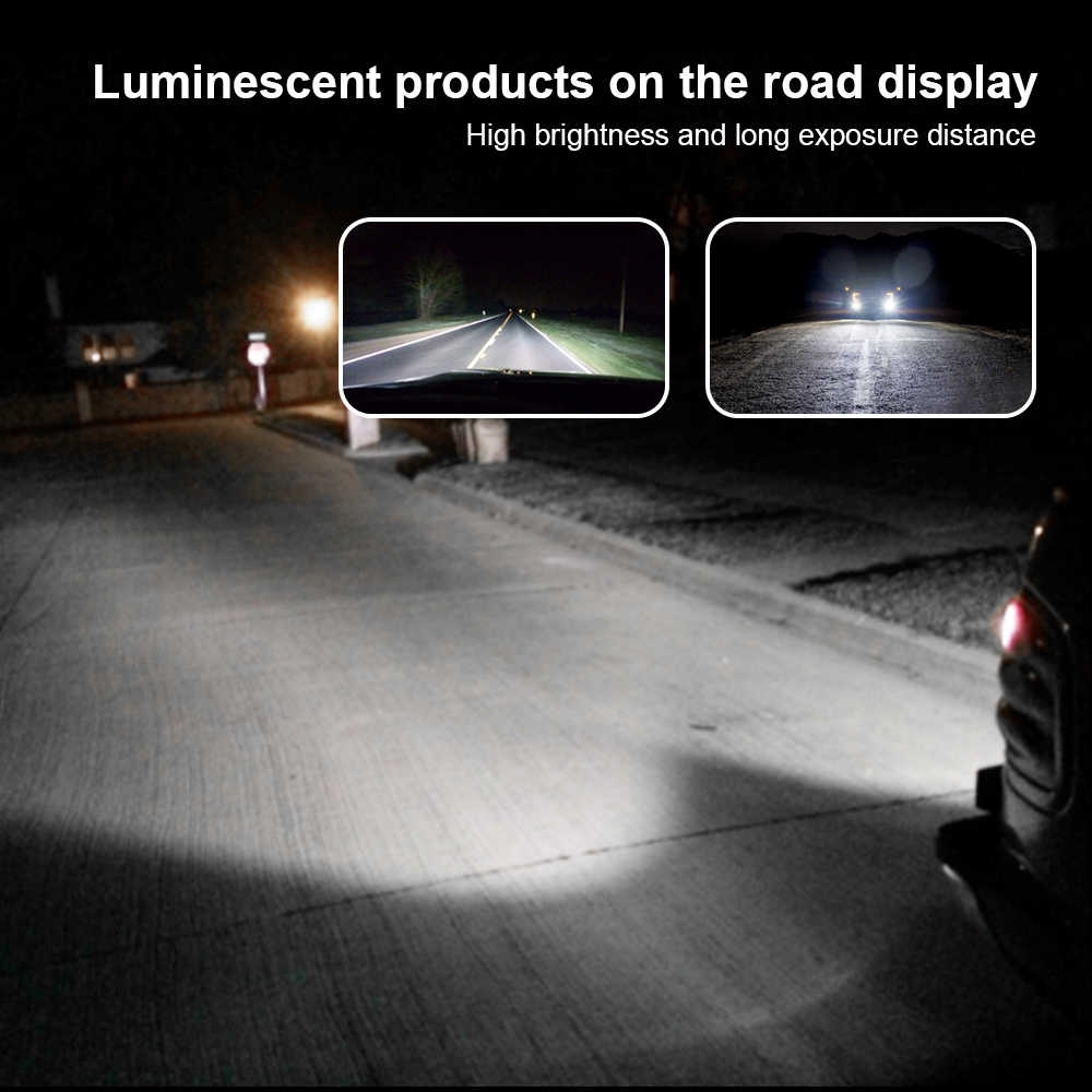 New Car LED Headlight H1 H4 H7 H8 H9 H11 9005 9006 Super LED Lamps Auto Head Bulbs 6000K Cold White
