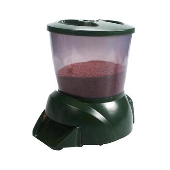 4.25L Large Capacity Pet Feeding Dispenser Automatic Quantify Food Dispenser For Vacation Weekend Fish Feeder With Timer