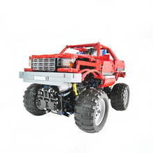 Building Blocks Compatible MOC-2168 Monster Truck Technic Bricks Gifts Fit lepining Diy Toy Christmas Gift 2020pcs alien building blocks diy bricks toy
