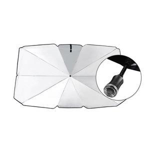Складной зонт от солнца для автомобиля, защита от УФ-лучей, внутреннее переднее окно, Солнцезащитная крышка, автомобильные аксессуары для л...