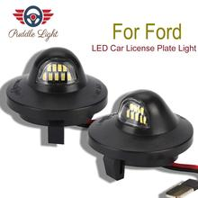 2x LED License Plate Light Lamp Assembly Replacement For Ford F-150 F-250 F-350 F-450 F-550 Superduty Ranger Explorer Bronco