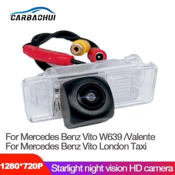 Para Mercedes Benz Vito W639 Valente 2003 ~ 2013 ojos de pez visión nocturna impermeable coche marcha atrás cámara de alta calidad HD/RCA