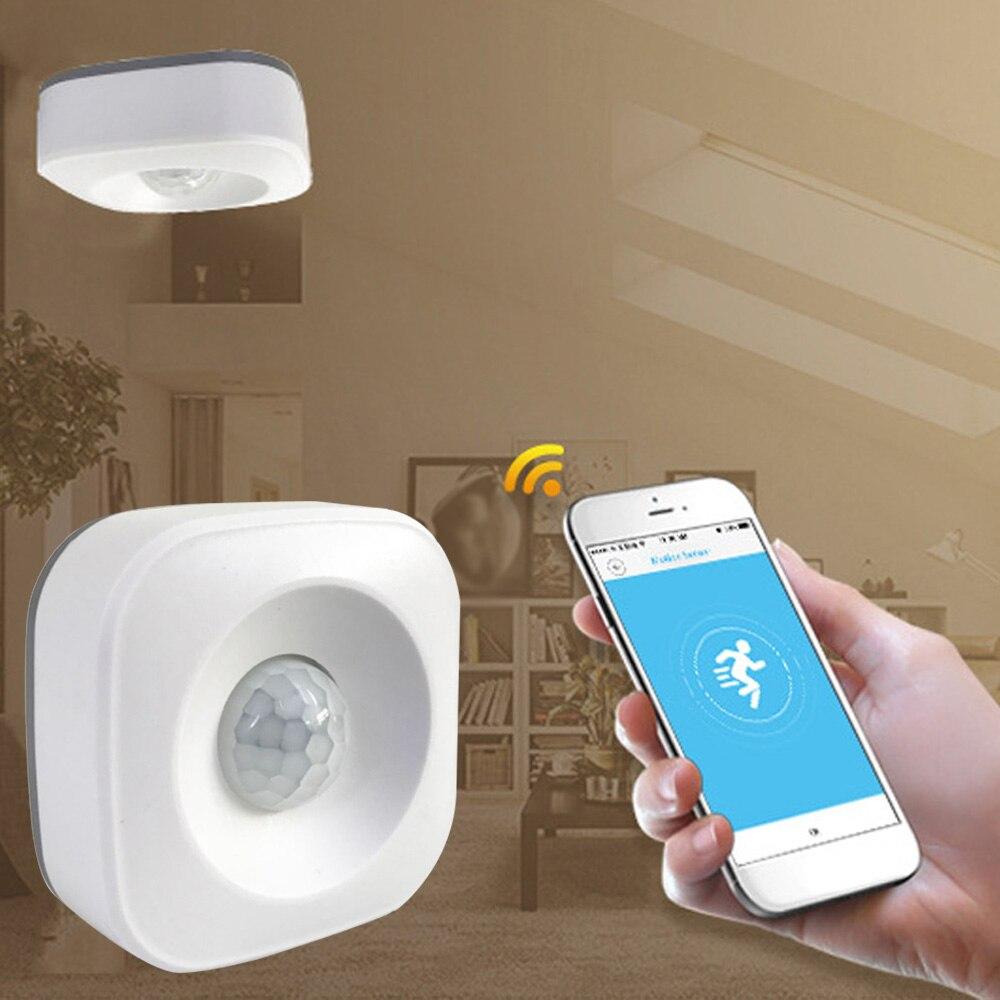WIFI Human Body Infrared Sensor PIR Motion Detector  Burglar Security Alarm