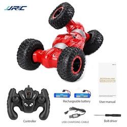 JJRC Q70 2 батареи 4 WD 2,4 GHz RC Гусеничный автомобиль Twister-двусторонний флип деформация скалолазание RC автомобиль RTR игрушка подарок для детей