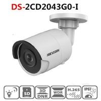 Original Hikvision Englisch version DS 2CD2043G0 I ersetzen DS 2CD2042WD I 4MP IR POE Netzwerk Kugel Kamera Sicherheit System-in Überwachungskameras aus Sicherheit und Schutz bei
