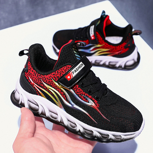 Image 5 - Kids Running Shoes Boys Basket Sneakers Men Sports Shoes For Girls Breathable Trainers Children Walking Jogging Hombre Footwear