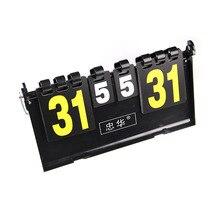4 桁スポーツスコアボードギア機器 ポータブルバスケットボールスコアボードサッカースコアボードバレーボールハンドボール卓球