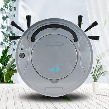 Aspiradora 3 en 1 Robot aspiradora automática limpieza de suelos barrido robótico aspiradoras perro mascotas pelo superficies de suelo de madera dura
