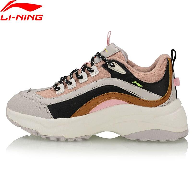 Li-Ning Women AURORA WINDWALKER WINTER Classic Shoes Winter Warm Fleece LiNing Li Ning Sport Shoes Sneakers AGCP298 YXB342