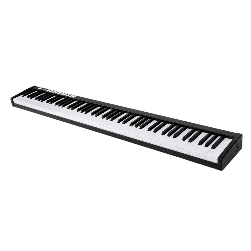 88 Key Piano Portable Digital Electronic Controller Piano Keyboard Touch Sensitive MIDI/USB Light Up Piano With Carry Bag