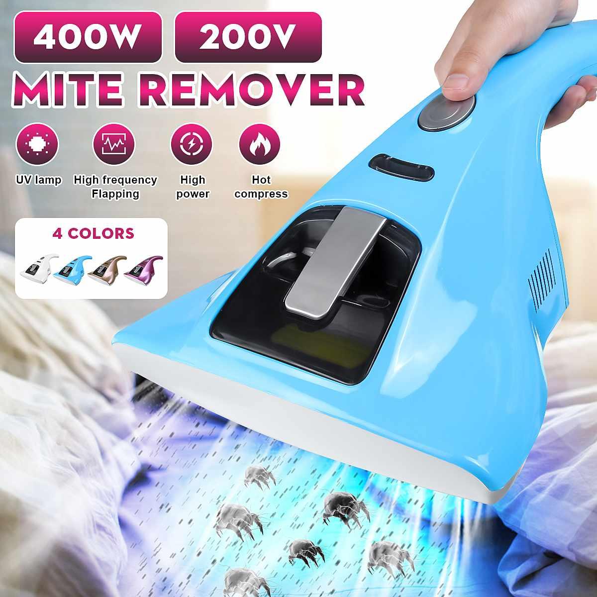 400 w portatil anti poeira acaros uv aspirador de po domestico anti bacteriano handheld uv esterilizar