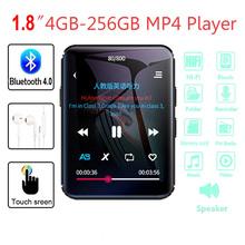 Przenośny wyświetlacz TFT LCD 1 8 #8222 odtwarzacz MP3 karta pamięci odtwarzacz MP3 z ekranem dotykowym odtwarzacz muzyczny odtwarzacz MP4 z Bluetooth 4GB 8GB walkman tanie tanio AUKUK 220x176 2 quot Dyktafon Radio FM Wyjście wideo Z tworzywa sztucznego 12 * 10 2 * 3 8cm MP4 Player