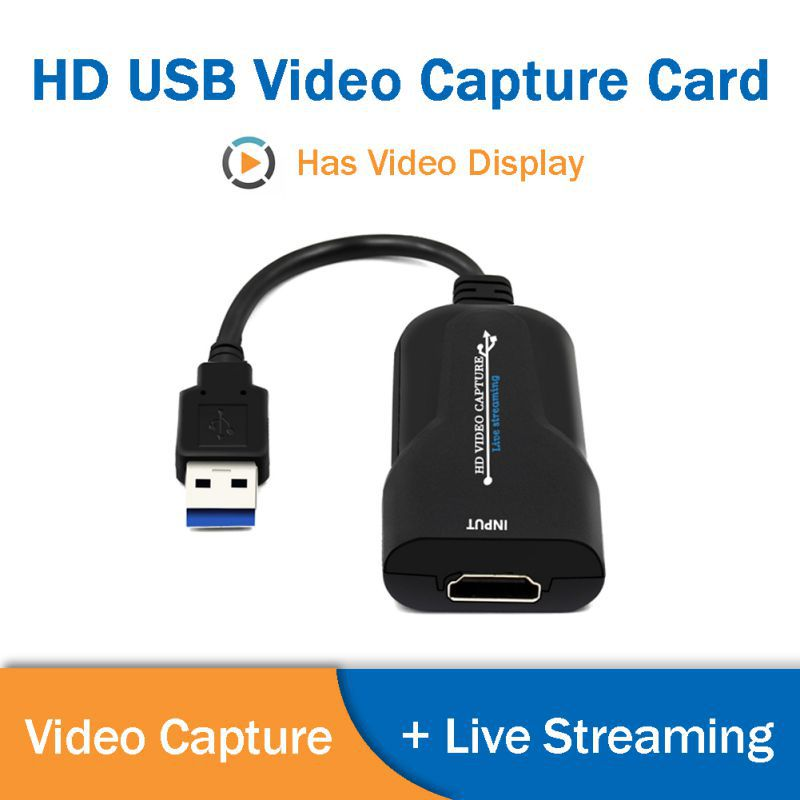 USB <font><b>Video</b></font> <font><b>Capture</b></font> <font><b>Card</b></font> <font><b>HDMI</b></font> <font><b>Video</b></font> HD 1080P 60 Frame <font><b>Capture</b></font> Box Live Streaming For DVD Camcorder Camera Recording image