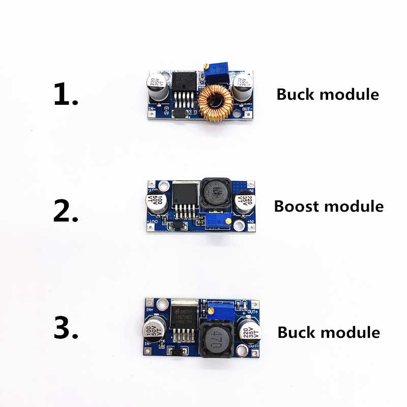 1pcs Adjustable DC to DC LM2596 LM2596S dc dc Buck Boost Module 3A 4A 5AStep down Power Supply Regulator module|Inverters & Converters|   - AliExpress