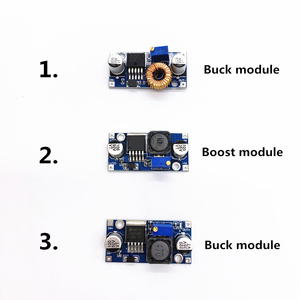 1pcs Adjustable DC to DC LM2596 LM2596S dc-dc Buck Boost Module 3A 4A 5AStep-down Power Supply Regulator module