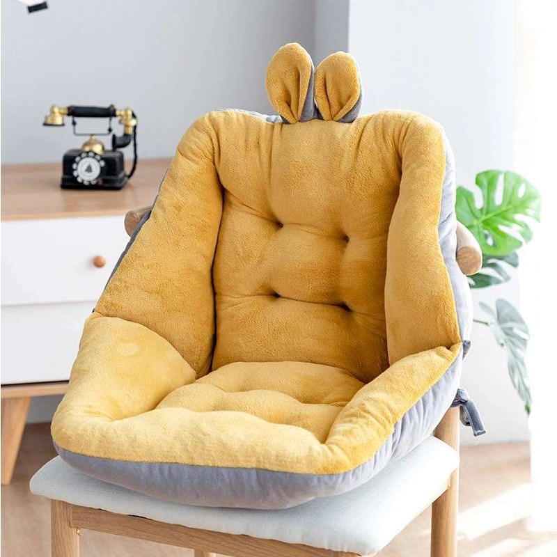 ComfiLife Premium Comfort Seat Cushion - Non-Slip Orthopedic 100% Memory Foam Coccyx Cushion for Tailbone Pain