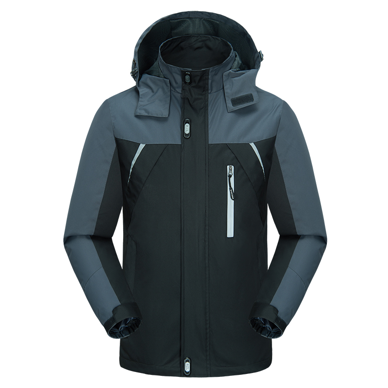 Outdoor Men Hoodie Waterproof Windproof Jacket Coat Hiking Autumn Ski Sport For Outdoor Mountain Skiing Male Outwear ,GA483