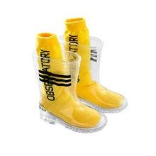 2021 nowe modne kalosze dziecięce PVC przezroczyste kalosze przeciwdeszczowe antypoślizgowe buty przeciwdeszczowe uczniów szkół podstawowych