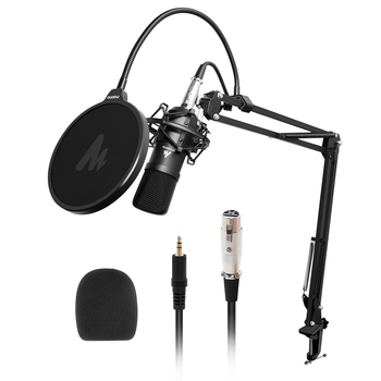 MAONO AU-A03 Professional Studio Microphone Kit Condenser Cardioid Microfono Podcast Mic for Gaming Karaoke YouTube Recording 2