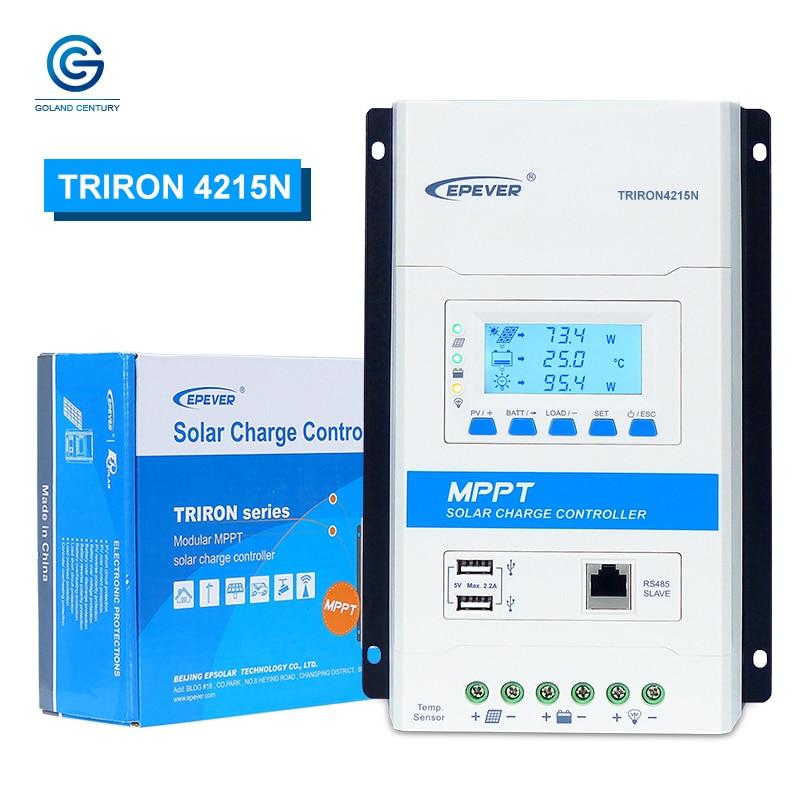 Fuhuihe Epsoar Latest 40A Mppt Charge Controller,TRIRON 4210N Intelligent Regulator Triron4210N+MT50+150U+RTS