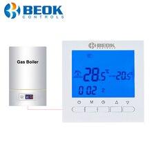 BOT 313W A Parete Termostato per Caldaia A Gas Termostato per il Riscaldamento con il Bambino di Blocco LCD Regolatore di Temperatura per Caldaia