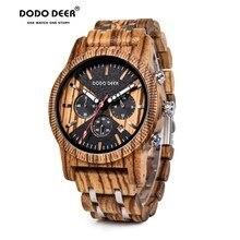 DODO DEER Men's watch Wood Watches Men c