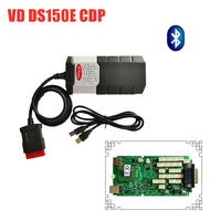Best Quality Single Green Board for delphis vd ds150e cdp 2016R0 Software keygen with bluetooth scanner for obd2 cars trucks