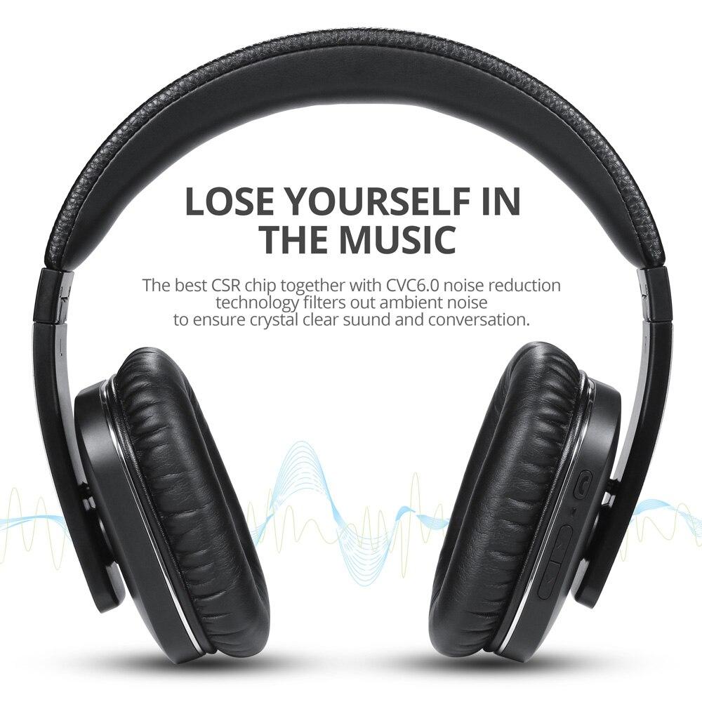 EP750 aptX activa Cancelación de ruido auriculares inalámbricos Bluetooth con micrófono auriculares Bluetooth ANC para viajes por aire - 2