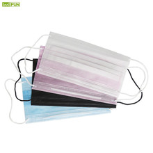 20Pcs Disposable Face Mouth Mask 3 Layers Unisex Anti Dust Frost Medical Facial Masks Daily Air Filtration